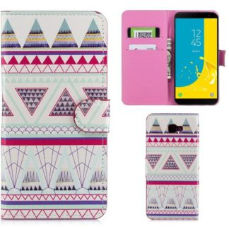 Plånboksfodral Samsung Galaxy J4 Plus - Aztek