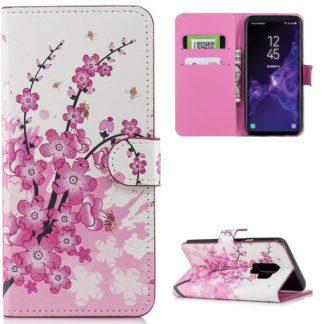 Plånboksfodral Samsung Galaxy S9 Plus - Körsbärsblommor