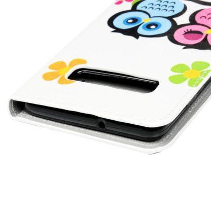 Plånboksfodral Samsung Galaxy S10 - Ugglor & Blommor