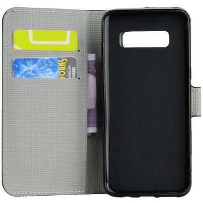 Plånboksfodral Samsung Galaxy S10 - Små Blommor