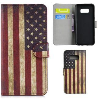 Plånboksfodral Samsung Galaxy S10e - Flagga USA