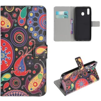 Plånboksfodral Samsung Galaxy A40 - Paisley