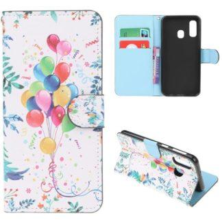 Plånboksfodral Samsung Galaxy A40 – Ballonger