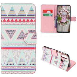 Plånboksfodral Samsung Galaxy A40 - Aztek