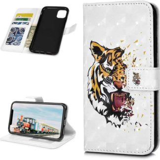 Plånboksfodral Apple iPhone 11 – Tiger