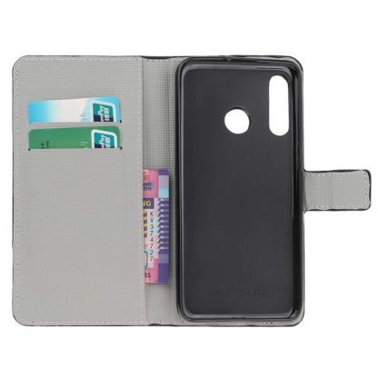 Plånboksfodral Huawei P30 Lite - Körsbärsblommor