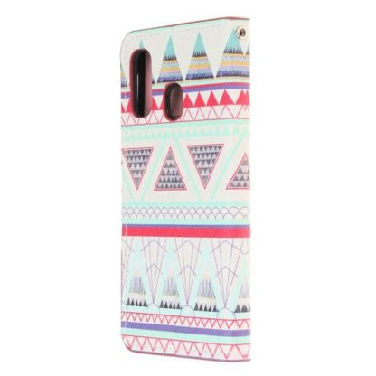 Plånboksfodral Huawei P30 Lite - Aztek