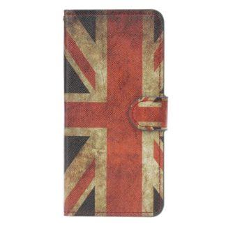 Plånboksfodral Samsung Galaxy A10 - Flagga UK