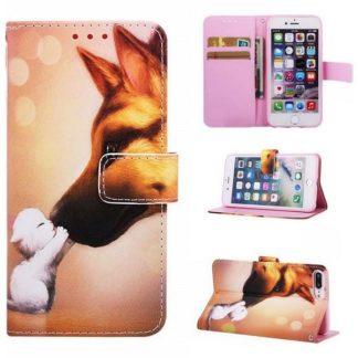 Plånboksfodral Apple iPhone 8 Plus – Best Friends