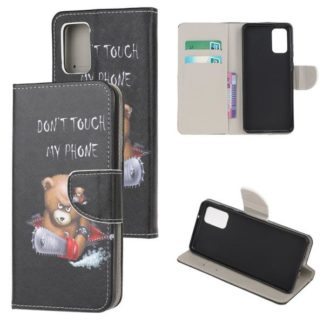 Plånboksfodral Samsung Galaxy S20 Plus - Don't Touch My Phone