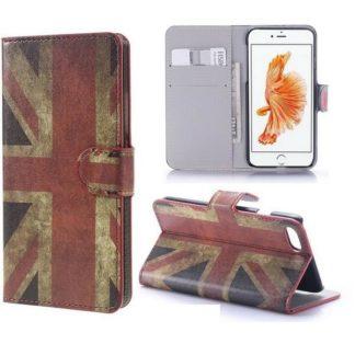 Plånboksfodral iPhone SE (2020) - Flagga UK