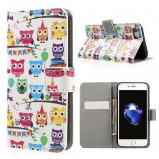 Plånboksfodral iPhone SE (2020) - Ugglor På Kalas