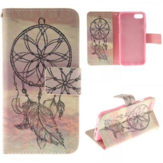 Plånboksfodral iPhone SE (2020) - Drömfångare / Dreamcatcher