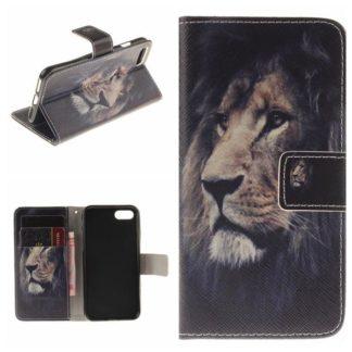 Plånboksfodral iPhone SE (2020) - Lejon