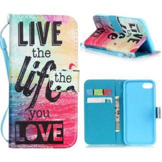 Plånboksfodral iPhone SE (2020) - Live The Life You Love