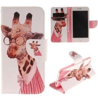 Plånboksfodral iPhone SE (2020) - Giraff