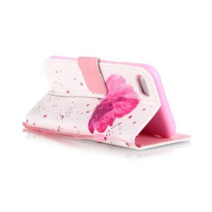Plånboksfodral iPhone SE (2020) – Rosa Blomma