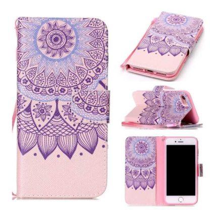 Plånboksfodral iPhone SE (2020) – Blomma