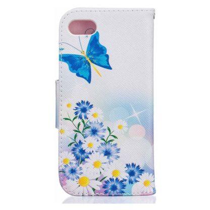 Plånboksfodral Apple iPhone SE (2020) – Fjärilar och Blommor