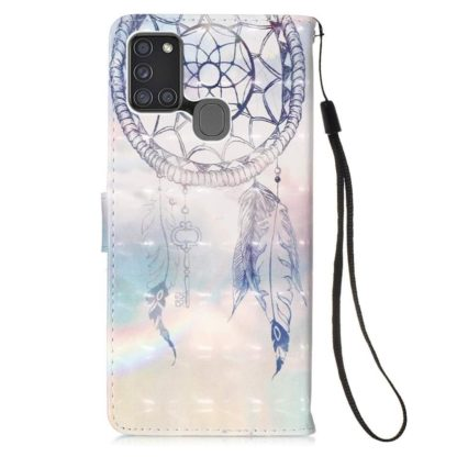 Plånboksfodral Samsung Galaxy A21s – Drömfångare Himmel