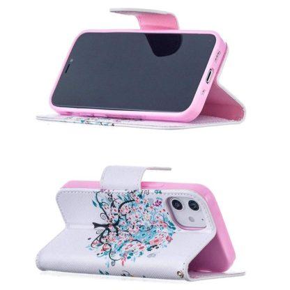 Plånboksfodral Apple iPhone 12 Mini – Färgglatt Träd