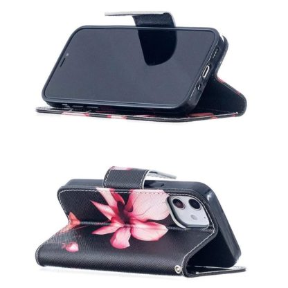 Plånboksfodral Apple iPhone 12 Mini – Rosa Blomma
