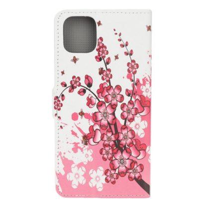 Plånboksfodral Apple iPhone 12 - Körsbärsblommor