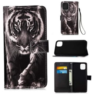 Plånboksfodral Apple iPhone 12 – Tiger