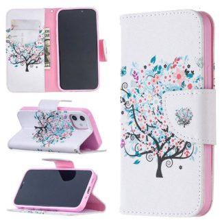 Plånboksfodral Apple iPhone 12 – Färgglatt Träd