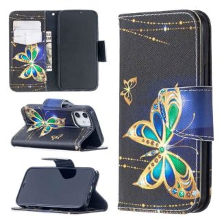 Plånboksfodral Apple iPhone 12 – Guldfjäril