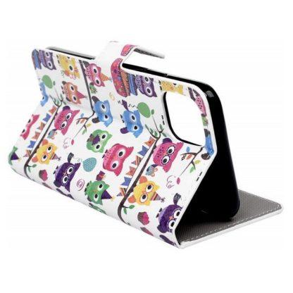 Plånboksfodral Apple iPhone 12 Pro - Ugglor På Kalas