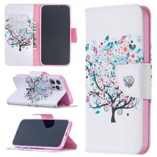 Plånboksfodral Apple iPhone 12 Pro – Färgglatt Träd