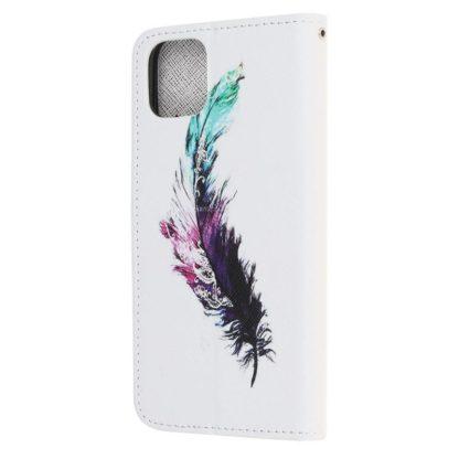 Plånboksfodral Apple iPhone 12 Pro – Fjäder