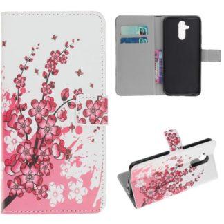 Plånboksfodral Huawei Mate 20 Lite - Körsbärsblommor