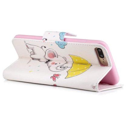 Plånboksfodral Apple iPhone 6 Plus – Elefant med Paraply
