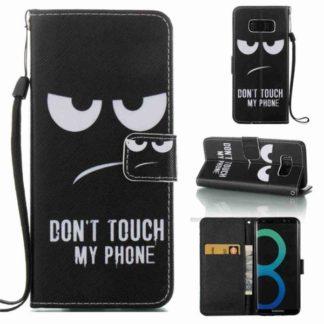 Plånboksfodral Samsung Galaxy S8 – Don't Touch My Phone