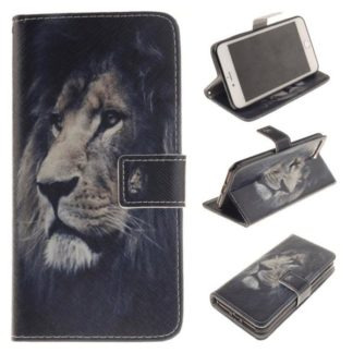 Plånboksfodral Apple iPhone 7 – Lejon