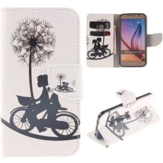 Plånboksfodral Samsung Galaxy S6 – Cyklande Barn