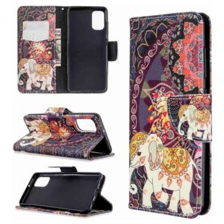 Plånboksfodral Samsung Galaxy A41 – Indiskt / Elefant