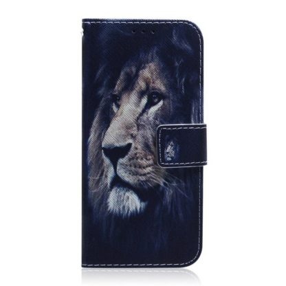 Plånboksfodral Samsung Galaxy S21 – Lejon