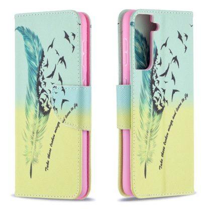 Plånboksfodral Samsung Galaxy S21 – Take These Broken Wings