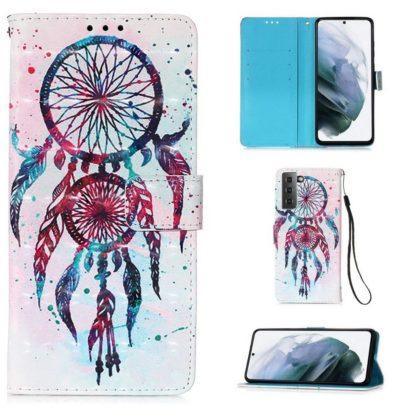 Plånboksfodral Samsung Galaxy S21 – Drömfångare