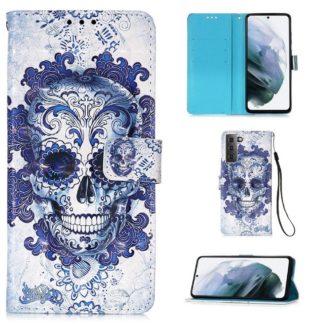 Plånboksfodral Samsung Galaxy S21 Plus – Döskalle