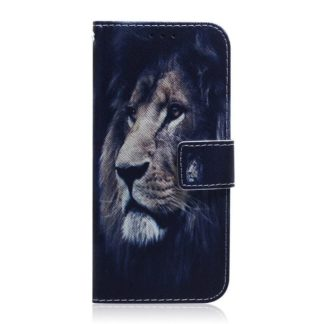 Plånboksfodral Samsung Galaxy S21 Plus – Lejon