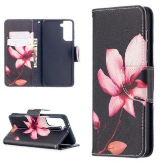 Plånboksfodral Samsung Galaxy S21 Plus – Rosa Blomma
