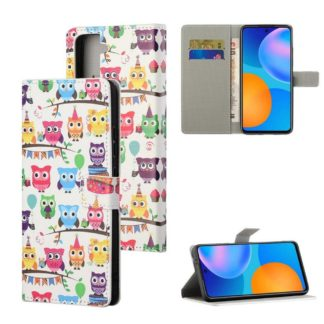 Plånboksfodral Samsung Galaxy S21 Plus - Ugglor På Kalas