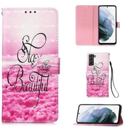 Plånboksfodral Samsung Galaxy S21 Plus – Stay Beautiful