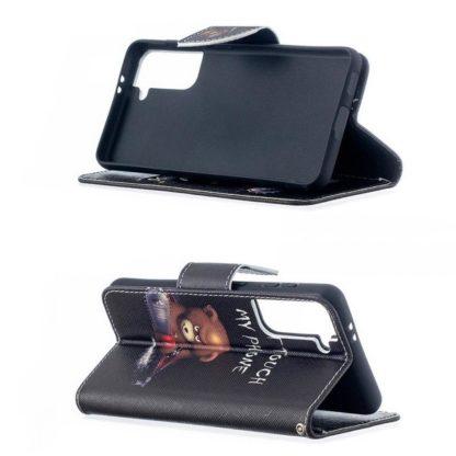 Plånboksfodral Samsung Galaxy S21 Plus - Don't Touch My Phone