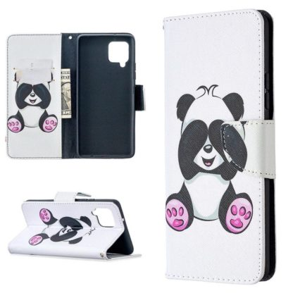 Plånboksfodral Samsung Galaxy A12 - Panda