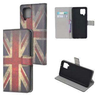 Plånboksfodral Samsung Galaxy A12 - Flagga UK